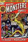 Where Monsters Dwell #18 comic books for sale