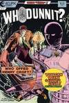 Whodunnit? #3 comic books - cover scans photos Whodunnit? #3 comic books - covers, picture gallery