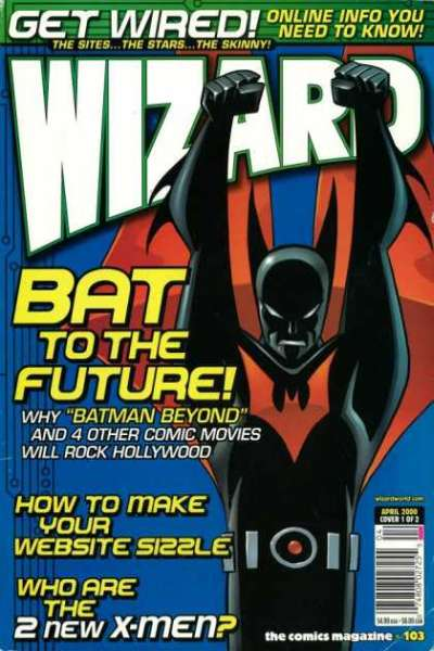 Wizard Magazine #103 comic books for sale
