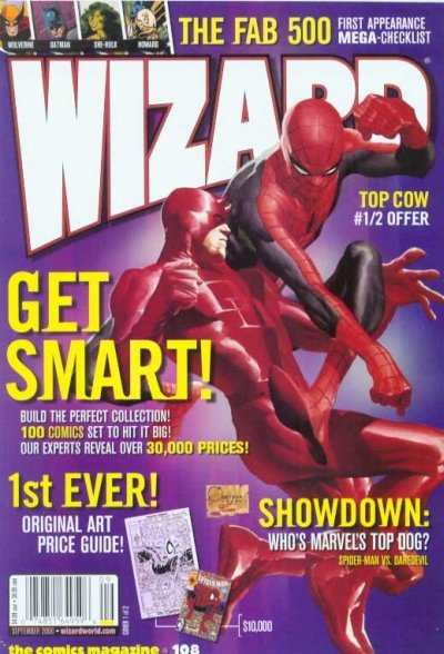 Wizard Magazine #108 comic books for sale