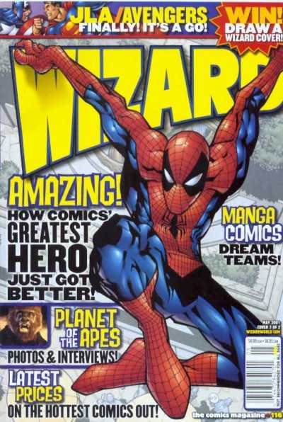 Wizard Magazine #116 comic books - cover scans photos Wizard Magazine #116 comic books - covers, picture gallery