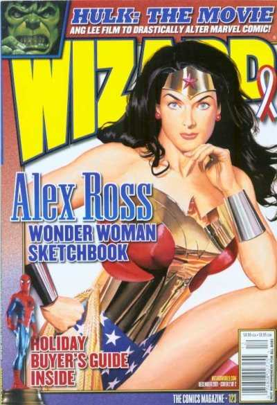 Wizard Magazine #123 comic books for sale