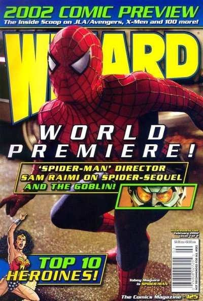 Wizard Magazine #125 comic books - cover scans photos Wizard Magazine #125 comic books - covers, picture gallery