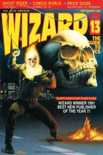 Wizard Magazine #13 comic books for sale
