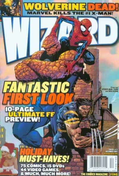 Wizard Magazine #146 comic books - cover scans photos Wizard Magazine #146 comic books - covers, picture gallery