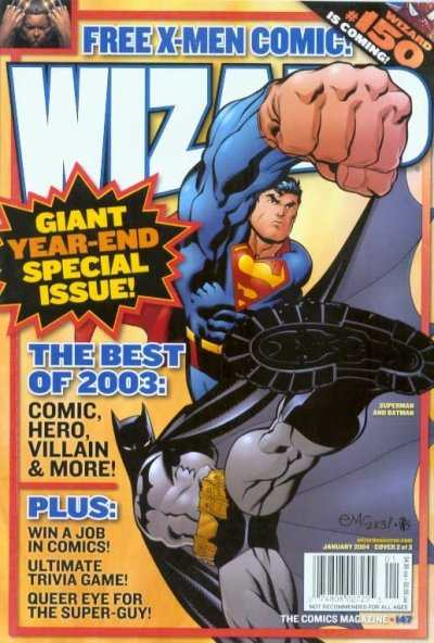 Wizard Magazine #147 comic books - cover scans photos Wizard Magazine #147 comic books - covers, picture gallery
