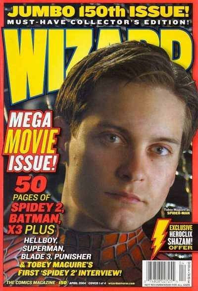 Wizard Magazine #150 comic books - cover scans photos Wizard Magazine #150 comic books - covers, picture gallery