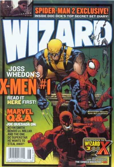 Wizard Magazine #152 comic books - cover scans photos Wizard Magazine #152 comic books - covers, picture gallery