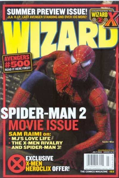 Wizard Magazine #153 comic books - cover scans photos Wizard Magazine #153 comic books - covers, picture gallery