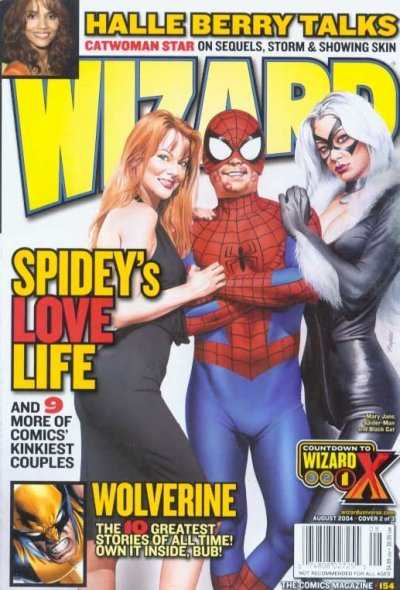 Wizard Magazine #154 comic books - cover scans photos Wizard Magazine #154 comic books - covers, picture gallery