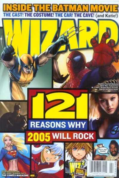 Wizard Magazine #160 comic books for sale