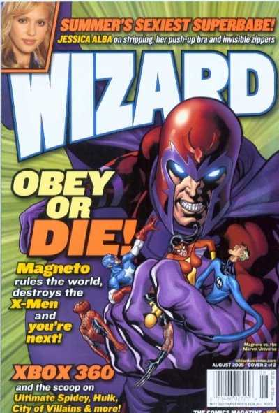 Wizard Magazine #166 comic books - cover scans photos Wizard Magazine #166 comic books - covers, picture gallery