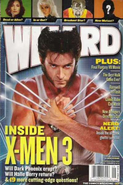 Wizard Magazine #167 comic books for sale