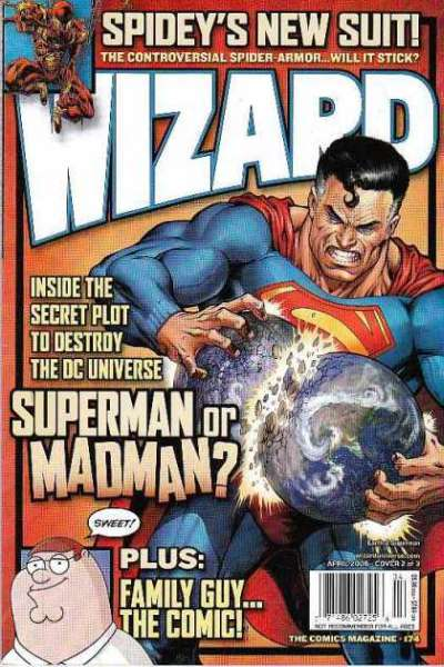 Wizard Magazine #174 comic books for sale