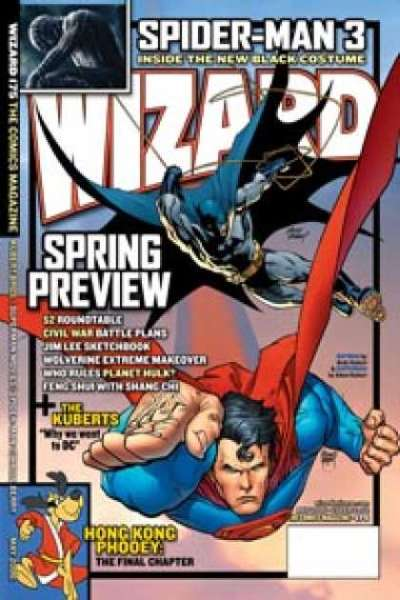 Wizard Magazine #175 comic books for sale