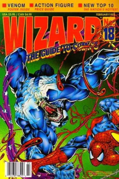 Wizard Magazine #18 Comic Books - Covers, Scans, Photos  in Wizard Magazine Comic Books - Covers, Scans, Gallery