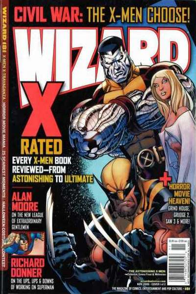 Wizard Magazine #181 comic books for sale