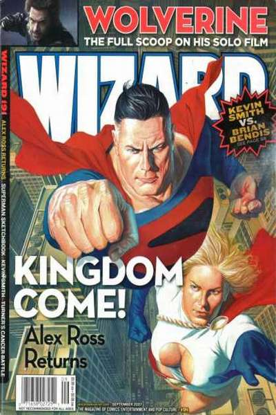 Wizard Magazine #191 comic books for sale