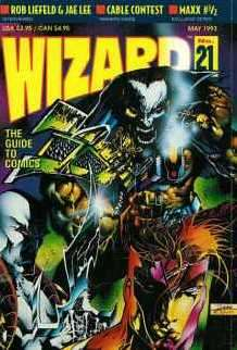 Wizard Magazine #21 comic books for sale