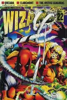 Wizard Magazine #22 comic books - cover scans photos Wizard Magazine #22 comic books - covers, picture gallery