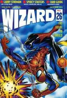 Wizard Magazine #26 comic books for sale