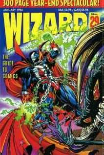 Wizard Magazine #29 comic books for sale