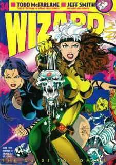 Wizard Magazine #34 comic books for sale