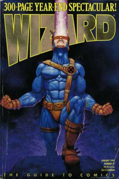 Wizard Magazine #41 comic books for sale