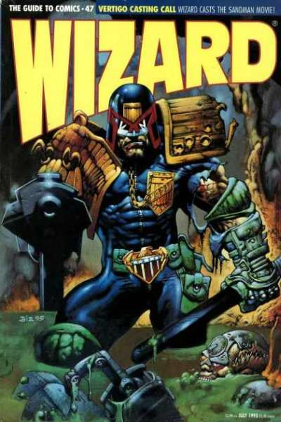 Wizard Magazine #47 comic books for sale
