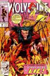 Wolverine #49 comic books - cover scans photos Wolverine #49 comic books - covers, picture gallery