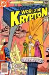World of Krypton comic books