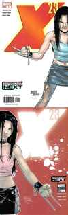 X-23 #1 comic books - cover scans photos X-23 #1 comic books - covers, picture gallery