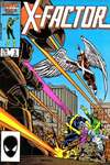 X-Factor #3 comic books - cover scans photos X-Factor #3 comic books - covers, picture gallery