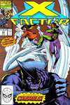 X-Factor #59 comic books - cover scans photos X-Factor #59 comic books - covers, picture gallery