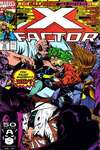 X-Factor #72 comic books - cover scans photos X-Factor #72 comic books - covers, picture gallery