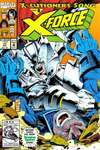 X-Force #17 comic books - cover scans photos X-Force #17 comic books - covers, picture gallery