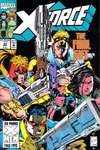 X-Force #22 comic books - cover scans photos X-Force #22 comic books - covers, picture gallery