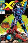 X-Force #23 comic books - cover scans photos X-Force #23 comic books - covers, picture gallery