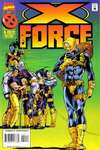 X-Force #44 comic books - cover scans photos X-Force #44 comic books - covers, picture gallery