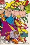 X-Force #5 comic books - cover scans photos X-Force #5 comic books - covers, picture gallery