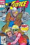 X-Force #7 comic books - cover scans photos X-Force #7 comic books - covers, picture gallery