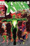 X-Men #55 comic books - cover scans photos X-Men #55 comic books - covers, picture gallery