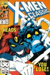 X-Men Classic #81 comic books - cover scans photos X-Men Classic #81 comic books - covers, picture gallery