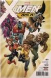 X-Men Gold comic books