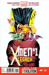X-Men: Legacy comic books