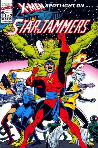 X-Men Spotlight on ... Starjammers Comic Books. X-Men Spotlight on ... Starjammers Comics.