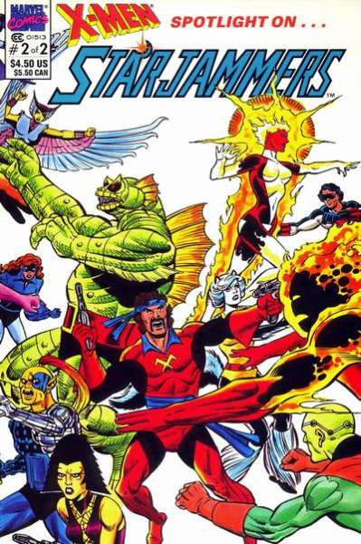 X-Men Spotlight on ... Starjammers #2 comic books for sale