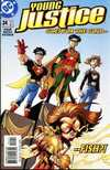 Young Justice #24 comic books - cover scans photos Young Justice #24 comic books - covers, picture gallery