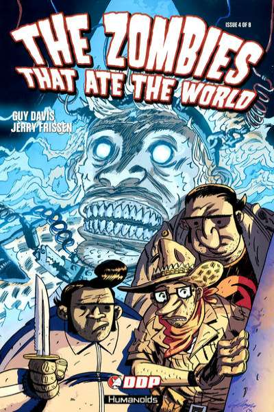 Zombies That Ate the World #4 comic books for sale