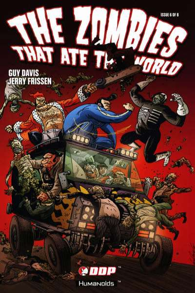 Zombies That Ate the World #6 comic books - cover scans photos Zombies That Ate the World #6 comic books - covers, picture gallery